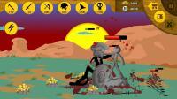 火柴人战争:挑战新任务模式第74关,斯巴达巨人自带回血技能
