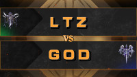 DOTA:第一届熊猫杯四强,LTZ VS GOD