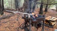 木屋建造 丛林工艺 建造一个实用经济的木屋 第3部分 锻钉选用和 门框的制作
