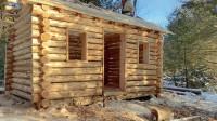木屋建造 丛林工艺 建造一个实用经济的木屋 第9部分 屋顶覆盖板