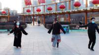 西宁市中心广场锅庄舞(158)无误的路
