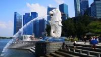 泰新马之旅 新加坡游 逛鱼尾狮公园