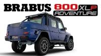 2021 巴博斯 Brabus 800 Adventure XLP 宣传片 Bold, Blue, Brabus!