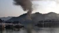 突发! 广东一地起火 天台挤满求救的人