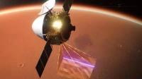 天问一号探测器进入火星停泊轨道