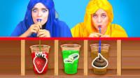未知饮料大比拼:姐妹两人花式作死,一口喝下去实在太上头!
