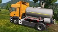 挖掘机视频1413大卡车运输挖土机+挖机工作+工程车