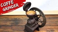 修复一台生锈的咖啡研磨机,翻新过程很专业