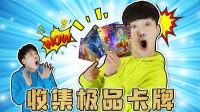 好玩又炫酷!坤坤、赫赫收集了白金版卡牌!里面竟然有极品卡牌!