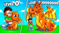 Roblox我的巨龙大亨:迷你恐龙进化完成!