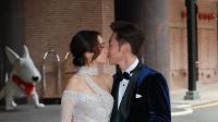 巨星郭富城出席婚礼 汤怡麦秋成大表感动