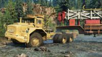 最新工程车挖掘机:卡车越野车