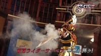 假面骑士圣刃 第25集 预告 神代玲花变身