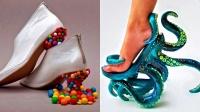 盘点最奇葩的高跟鞋,设计师的脑袋永远不知道在想啥!