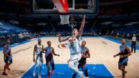 NBA:掘金126-96雷霆 约基奇19+11+13