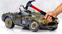 小伙捡到一辆豪车模型,带回家一顿修复后,不料赚大发了!