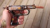 小伙捡到一把小手枪,带回家一顿捯饬后,不料太霸气了!