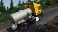 挖掘机视频1423大卡车运输挖土机+挖机工作+工程车