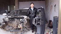事故车的维修与改装,看下仪表台该如何拆下来?