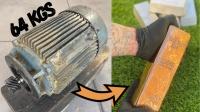 强大的铸造术!从64公斤的电动机里提炼金属