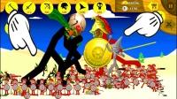 火柴人战争遗产:狮鹫大帝率领黄金战团参战!对手的巨人苦不堪言