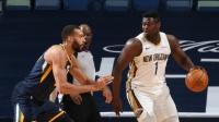 NBA:爵士124-129鹈鹕 蔡恩26分 博扬31分