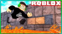 Roblox夏季冒险:孤岛求生危险的岩浆就在脚下!小飞象解说