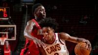 NBA:骑士101-90火箭 塞克斯顿39分 沃尔32分
