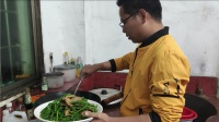城里卖35元一斤的蛇卷菜,味道真不错,就是做起来太麻烦