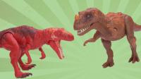 侏罗纪世界恐龙玩具第21弹 角鼻龙VS中棘龙
