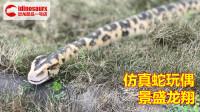 仿真蛇玩偶 - 操控蟒蛇模型