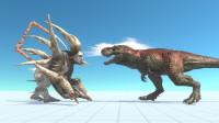 生物战争模拟器02:钢铁哥斯拉大战铁甲大金刚