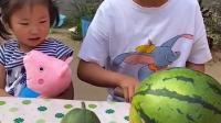 搞笑趣事:这么多西瓜吃哪一个呢?