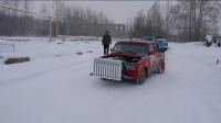 俄罗斯到底有多冷?大叔给汽车装暖气片上路,这改装厉害了!