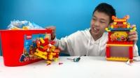 布鲁可欢乐中国桶视频:京剧皮影积木拼装