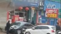 儿媳因家庭纠纷怒怼公公,驾车当街多次疯狂冲撞,警方通报