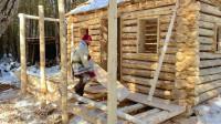 建造木屋 第12集 框架阳台建造