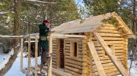 建造木屋 第13集 建造完成阳台屋顶