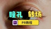 【PR教程】利用PR制作瞳孔转场,非常的简单!