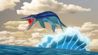 恐龙传奇_动画解说_43_长头龙和邓氏鱼