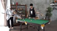 [BANGTAN BOMB] Jimin vs V Pool Game - BTS (防弹少年团)