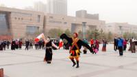 玉树锅庄舞及领舞规范动作(3)玉树锅庄