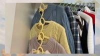 颜值高又好用的儿童衣架,可伸缩调节大小