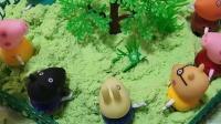 童年趣事:给树的周围栽一些草