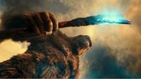 遠古巨獸金剛獲得背脊戰斧,戰鬥力暴增,完虐哥斯拉,怪獸猛片