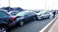 杭州市,杭州绕城高速上发生多车追尾,伤者已被送医