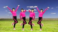 新歌舞蹈教学《山水家乡美》蹦跳点步舞很火,32步跳出好身材