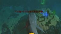 海底大猎杀:大白鲨VS苍龙和巨齿鲨!巨齿鲨隐藏在虚空偷袭大白鲨
