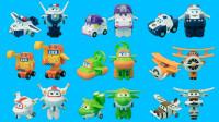 超级飞侠迷你变形玩具 新旧9款角色迷你变形机器人
