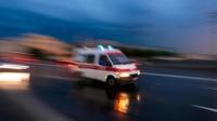 江苏一中巴车与货车相撞 致5死10伤